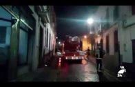 Incendio en un establecimiento en la calle la Feria de Pozoblanco