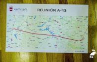 La Mancomunidad reclama el corredor sur de la A-43