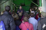 Los participantes de los Lunes Saludables visitan la Cooperativa Olivarera