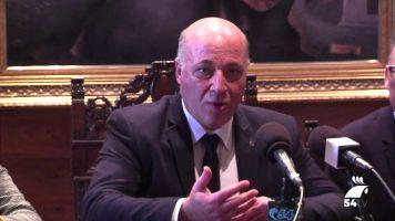 El presidente de la Diputación insiste en la necesidad de actuar en la N-432