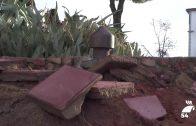 Las obras del Bulevar destapan vestigios de los depósitos de agua de principios del siglo XX