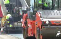 En marcha las obras de la carretera A-424 que une Pozoblanco, Villanueva y Cardeña