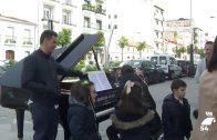 Los pianos volvieron a las calles de Pozoblanco de la mano de la Fundación Ricardo Delgado Vizcaíno