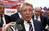 Enrique Cerezo asistió al 50 Aniversario de la Peña del Atlético de Madrid