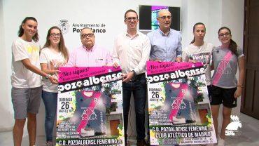 El CD Pozoalbense Femenino presenta su pretemporada y su campaña de apoyos