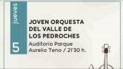 La Joven Orquesta del Valle de Los Pedroches comienza un verano 'Al Fresco'