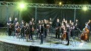 La Joven Orquesta del Valle de Los Pedroches inauguró el verano 'Al Fresco'