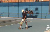 Suerte dispar para los pozoalbenses en el Europeo Sub 12 de Tenis
