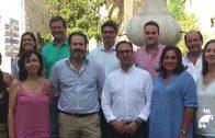 El PP reúne al grupo +20 con los candidatos de las poblaciones más pobladas de Córdoba