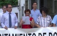 La Asociación Marta Peralbo leyó el manifiesto contra la violencia de género
