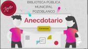La Biblioteca de Pozoblanco lanza un nuevo Anecdotario para el mes de agosto