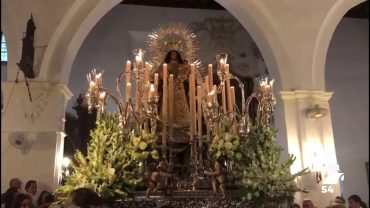 La Cofradía de la Virgen de Luna de Pozoblanco estuvo representada en Escacena del Campo