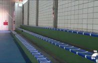 El Ayuntamiento instala los asientos de las gradas del Pabellón Don Bosco