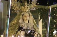 La Hermandad Servita celebra las meditaciones de los Dolores de María Santísima