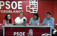 Dolores Amo visita la sede del PSOE en Pozoblanco