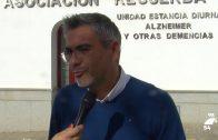 Emiliano Pozuelo visita la Asociación Recuerda