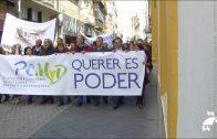 Los Pedroches se manifestaron en Sevilla en favor de las personas mayores y dependientes