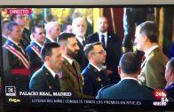 José Luis Torrico fue condecorado por Felipe VI durante la Pascua Militar