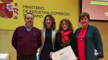 El CCA recibe un reconocimiento en los Premios Nacionales de Comercio Interior