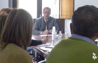 Reunión sobre la futura Residencia de Mayores en el Ayuntamiento de Pozoblanco