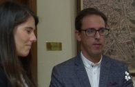 Araceli Cabello se reúne con el alcalde de Pozoblanco y el director de la OCA Pedroches I
