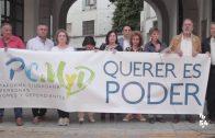 Nueva concentración de la Plataforma Ciudadana de Personas Mayores y Dependientes