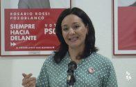 Rafi Crespín ofrece una rueda de prensa acompañando a Rosario Rossi